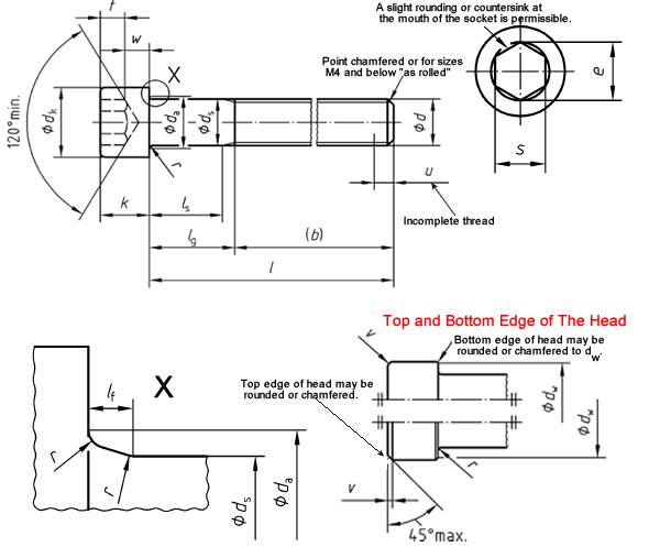 Square Bolt T304 S 149 x 57 mm Internal Dimensions M6 x 25 mm Thread C Bolt